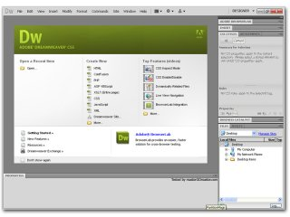 Инструмент для дизайна Adobe Dreamweaver