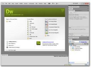 Инструмент для дизайна Adobe Dreamweaver